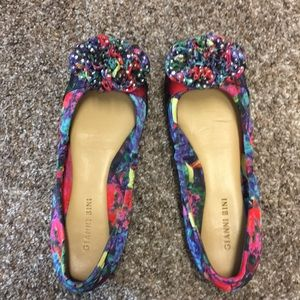 Gianni Bini Multi Color Flats